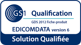 EDICOMData e-Catalogue GDS accreditation