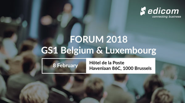 FORUM 2018 organized by GS1 Belgium & Luxembourg